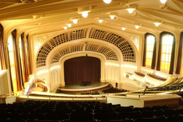 University of Colorado College of Music Macky Auditorium
