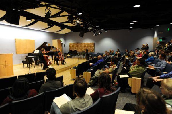 University of Colorado College of Music Chamber Music Hall