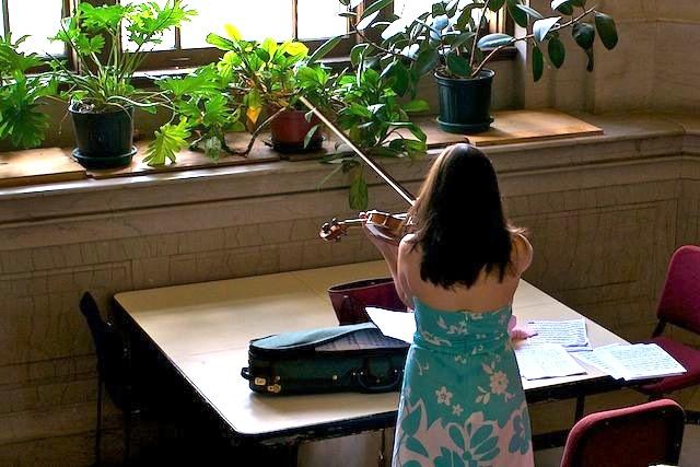 Music School Auditions: It's a Matter of Balance