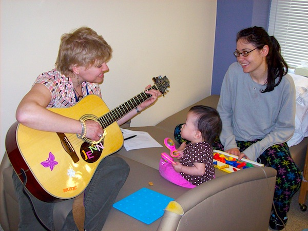 using music therapy with children