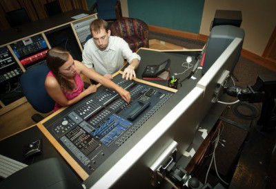 recording studio Appalachian State University