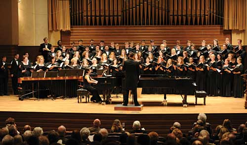 Baldwin Wallace University Conservatory of Music chorus