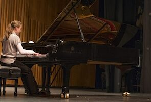 Catholic University music piano