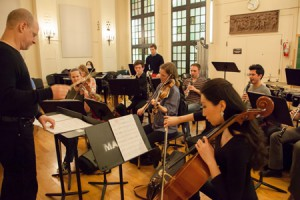 Mannes College The New School for Music rehearsal
