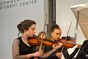Mannes College The New School for Music violins