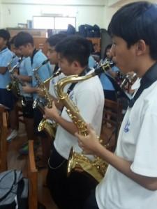 Teaching music abroad