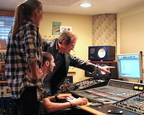 Monmouth University music studio