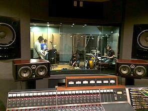 Monmouth University music studio session