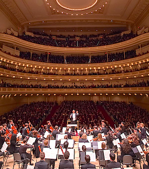 The Oberlin Orchestra at Carnegie Hall