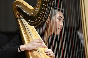 The Boston Conservatory harp