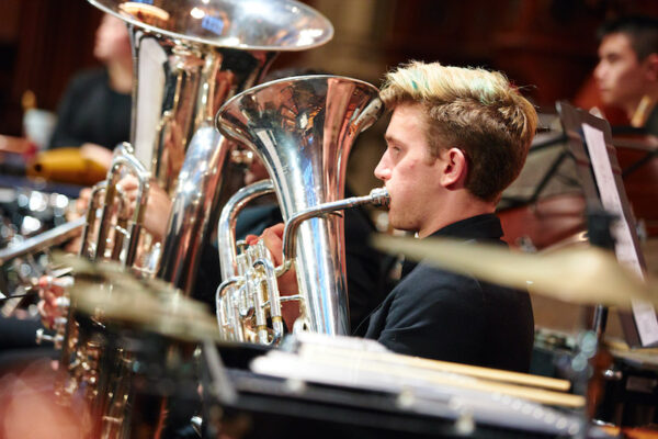 Boston Conservatory at Berklee tuba student