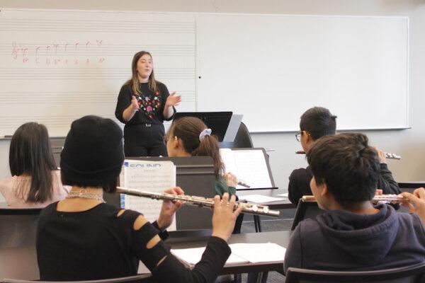 Depaul music flute class