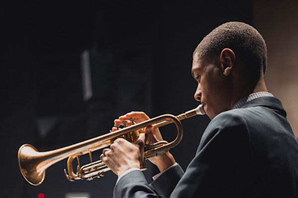 Depaul music trumpet student