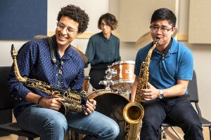 Interlochen Arts Jazz students