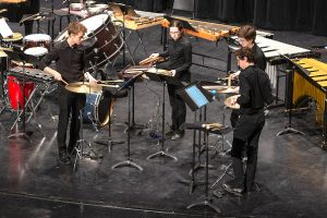 Interlochen Arts Percussion students