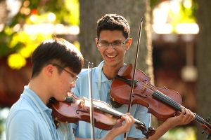 Interlochen Camp Music students