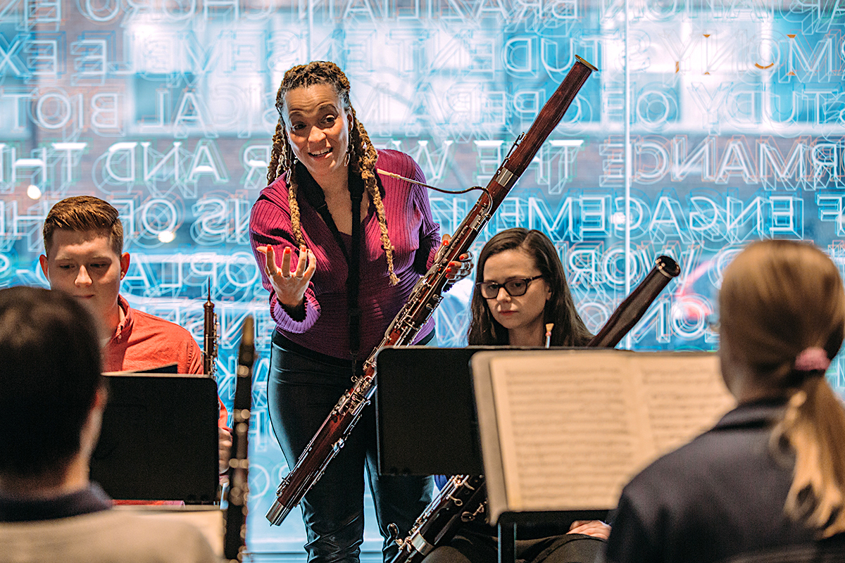The School Of Jazz And Contemporary Music At The New School Music Major Majoring In Music