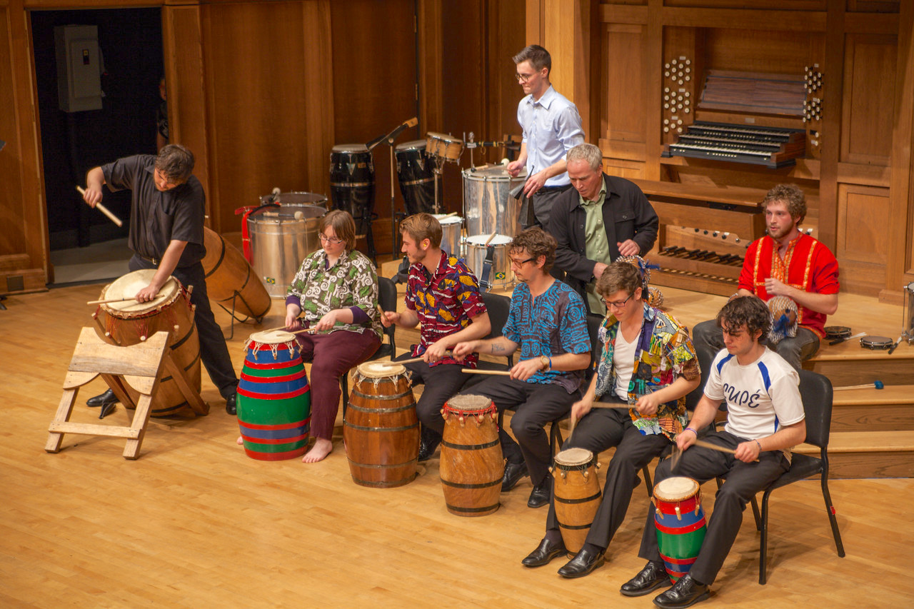 Lawrence University music drums