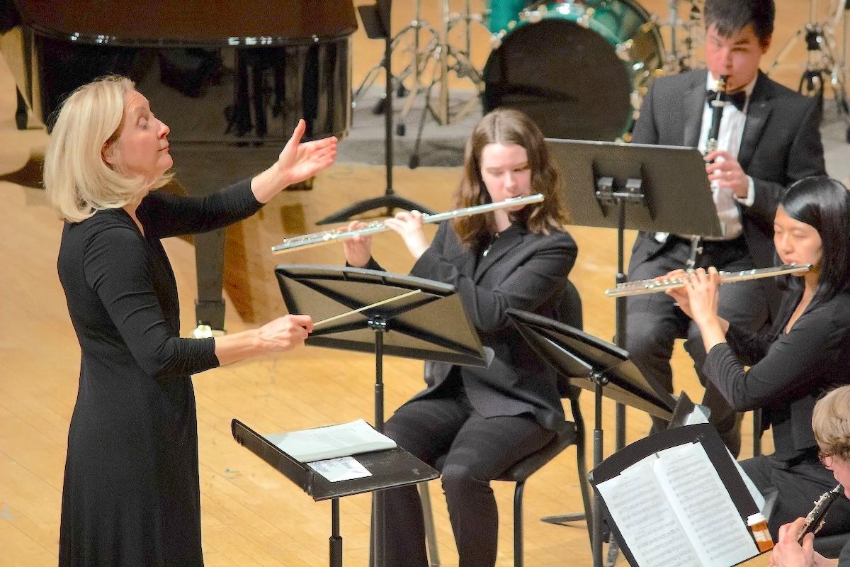 Northwestern University Bienen School of Music conductor