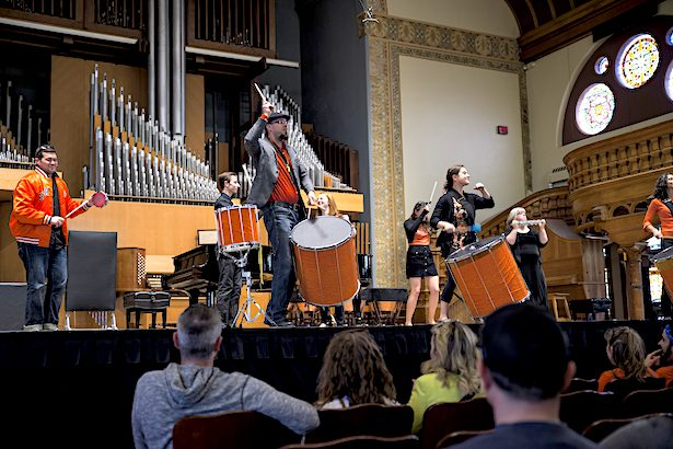Syracuse University Setnor School of Music Brazilian ensemble