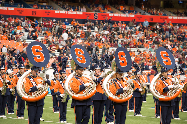 Syracuse University Setnor School of Music marching band