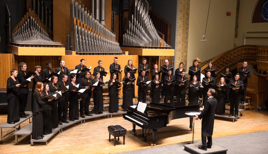University Singers Concert There's No Place Like Home - Commencement Mini Ceremony 2016