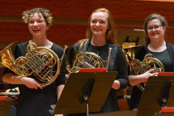 Temple University music - brass