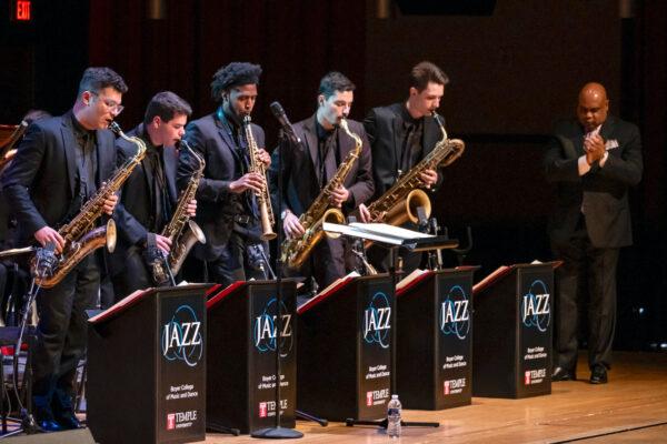Temple University music - jazz band