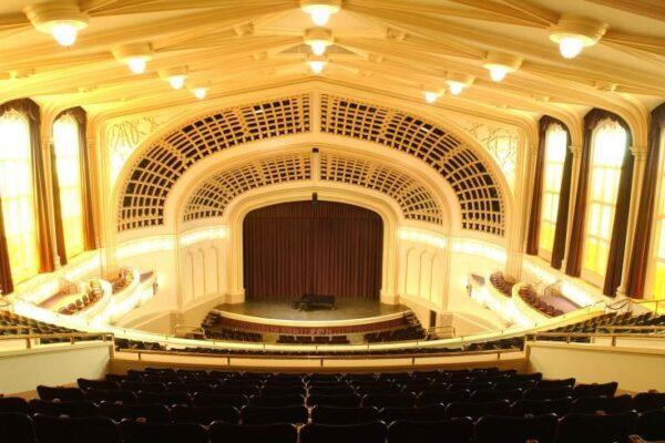 University of Colorado music auditorium