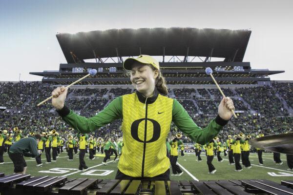 University of Oregon Athletic Bands