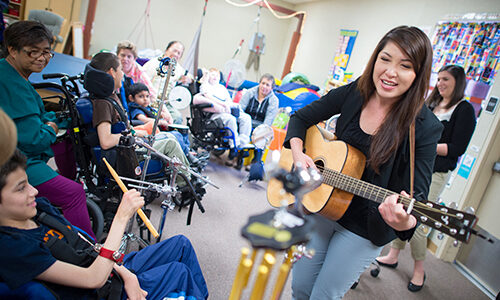 University of Pacific Conservatory music therapy