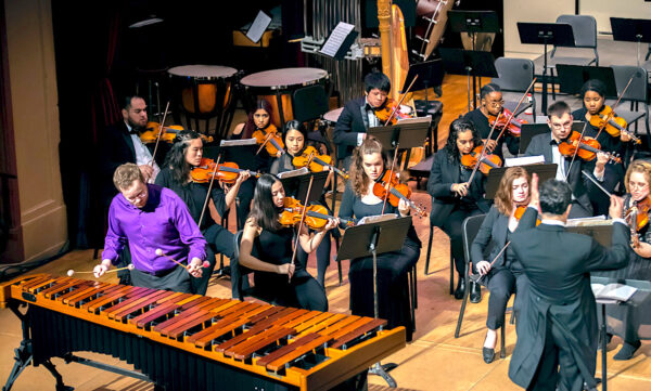 University of the Pacific Conservatory orchestra