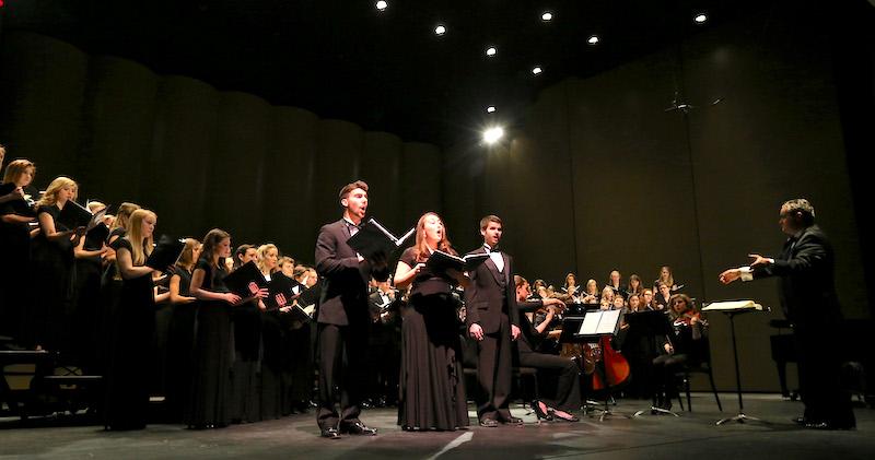 Blair School of Music at Vanderbilt University singers