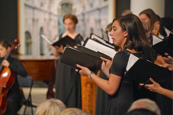 University of Michigan music - singers