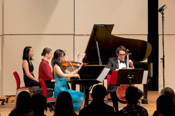 Northeastern University music Chamber Ensemble