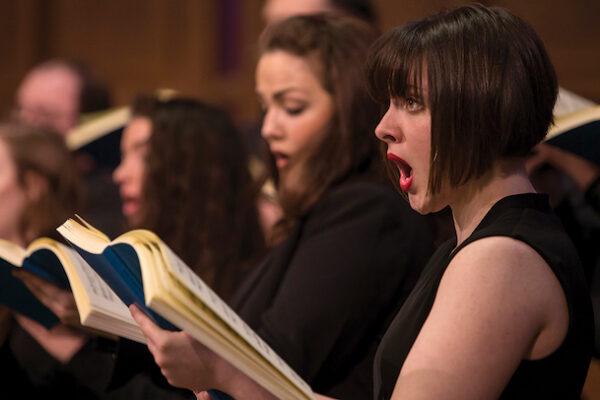 CCM choral singers