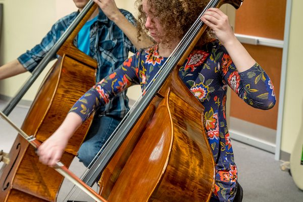 Mary Pappert School of Music at Duquesne University bass players