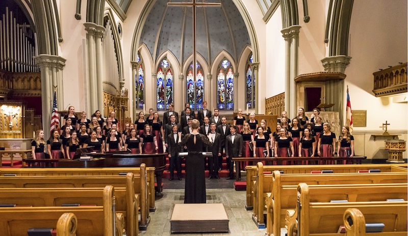 Mary Pappert School of Music at Duquesne University chamber choirs