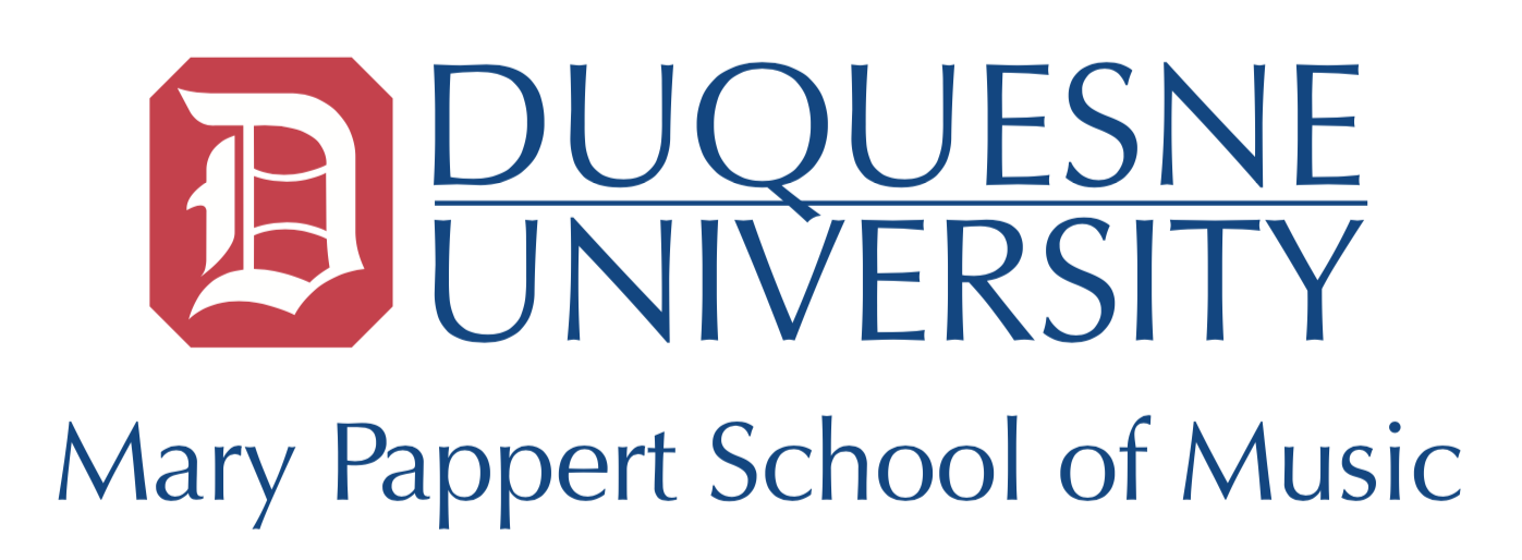 Mary Pappert School of Music at Duquesne University logo