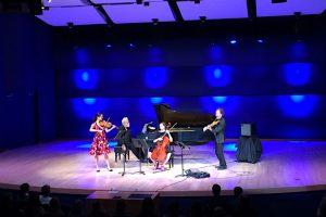 Montana State University music quartet