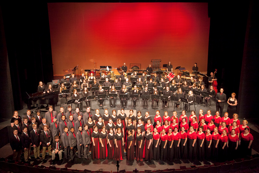 Minnesota State University Moorhead choir