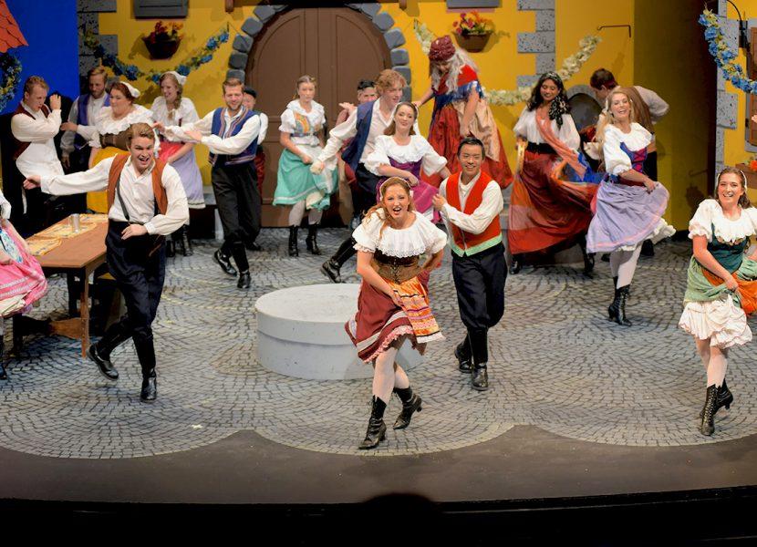 Majoring in Musical Theatre