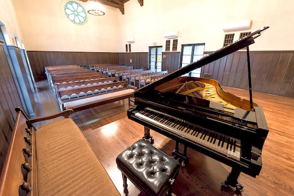 Occidental College music piano