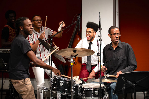 Manhattan School of Music jazz students