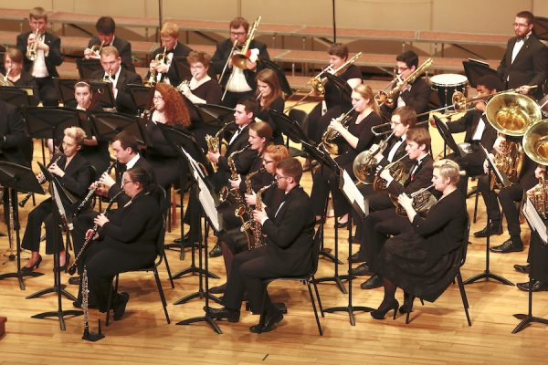 Butler University music orchestra