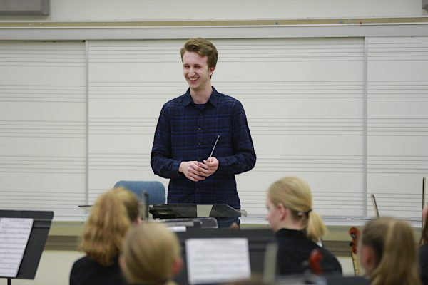 Butler University JCA Music Education conducting clinic