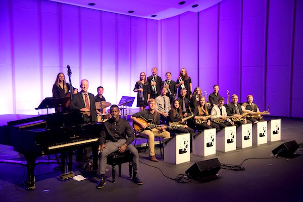 Milliken University music jazz band