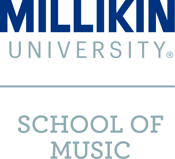 Milliken University school of music logo