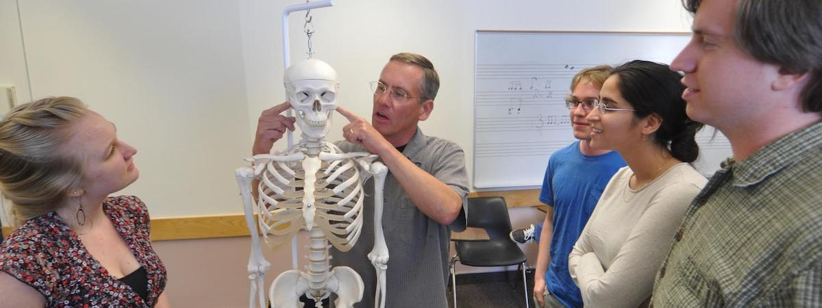 Body mapping helps musicians