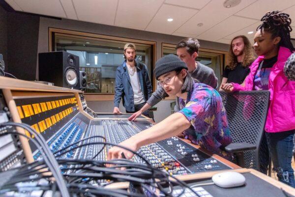 UArts Analog Recording Class
